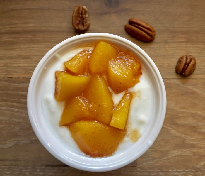 Easiest Peach-Vanilla Compote