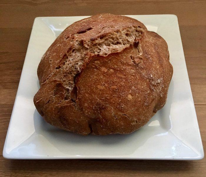 No-Knead, Whole Wheat, Healthy Bread